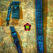 radio strap and radio strap combos five alarm fronts and leather works