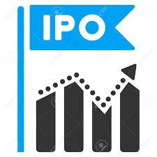 Ipo Chart Vector Pictogram Illustration Style Is A Flat Iconic
