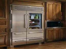 glass door refrigerator for home refrigerators with doors residential full size