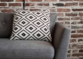 The Mesa pillow is a standout accessory thanks to its bold,  southwestern-inspired pattern. We love pairing it with the clean lines of  the Emil sofa in ...
