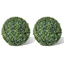 "Shop vidaXL <b>Boxwood Ball Artificial Leaf</b> Topiary Ball 10.6"" 2 pcs ..."