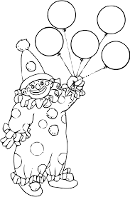Dessin De Coloriage Clown Imprimer Cp08268