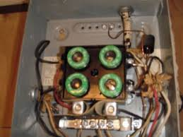 chatham home inspectors typical electrical problems found during Amp Fuse Box the wires used here are rated for 15 amp fuses but they feed into a 30 amp fuse blown