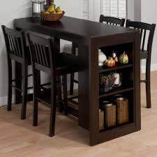 breakfast bar table with storage