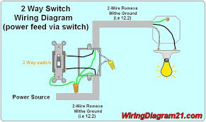wiring question 1 black wire wemo community 2 way light switch wiring diagram power feed via switch jpg