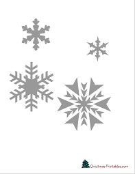 Snowflake Printable Stencils To Use For Decorating Cake Disney
