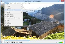 VLC Player Custom Bookmarks