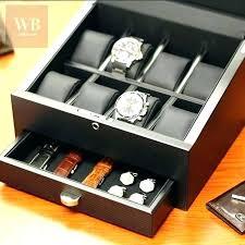 necktie storage boxes tie storage box best tie storage attractive watch cases jewelry box best watch necktie storage boxes