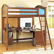 bunk bed on top desk on bottom furniture 3 in 1 loft bed desk and cube