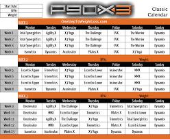 p90x3 clic calendar