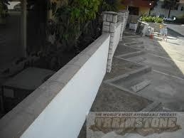 precast wall cap travertine finish wall cap rustic auburn