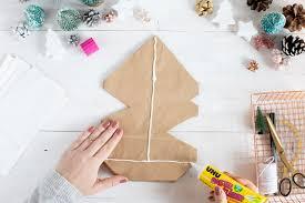 Weihnachtsstern Selber Basteln Aus Kraftpapiertüten