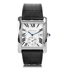mens cartier watches the watch gallery cartier tank mc automatic steel silver dial mens watch w5330003
