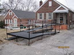 amramp st louis worked with rebuilding together to replace an unsafe steep wooden ramp