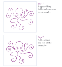 Small Picture How to Draw an Octopus in 10 Steps The Inky Octopus