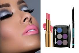 silver eyes mauve y pink lips