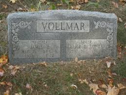 Alice Elisa Howey (Vollmar) (1906 - 1942) - Genealogy