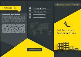 Free Word Brochure Templates Download Free Fold Brochure Template Word Templates Download A4 Tri
