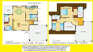 home architecture two house floor plan designs small double story bedroom plans delectable perspective modern design with balconies building simple model
