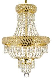 french empire crystal chandelier chandelier gold 22 x15