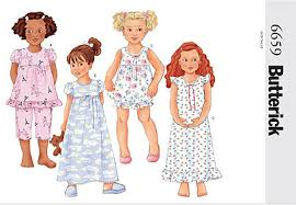 Pattern Review Gorgeous Pattern Review Butterick 48 Option F Girls Short Pajama Bottoms
