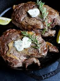 the perfect steak in just 15 minutes pan seared ribeye that s finished off in the