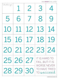 Free Printable 30 Day Countdown Calendar Mickey Mouse By