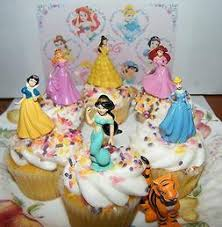 Cake Toppers Princess Cake Decorations