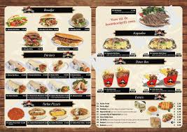 Menukaart Bussum Iskender Kebab