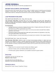 Office Loan Officer Resume Examples