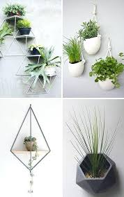 wall flower holders here are examples of stylish and modern wall mounted planters that will help you get your plants off your surfaces and onto your walls