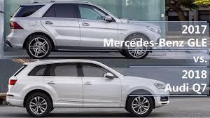 2017 Mercedes-Benz GLE vs 2018 Audi Q7 (technical comparison ...