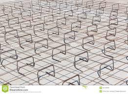 construction steel frame concrete floor
