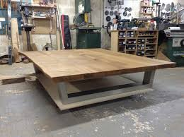 mesmerizing large square oak coffee table 26 the live edge komodo 1900 x 1500mm sets home