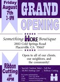 bar grand opening flyer more mother lode rehabilitiation enterprises inc grand opening