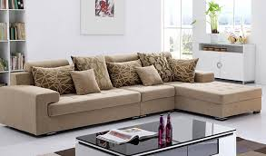 beautiful color l shape sofa design