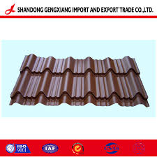 Iron Design Roofing Hot Item Design Roofing Sheet Used In Buliding Material