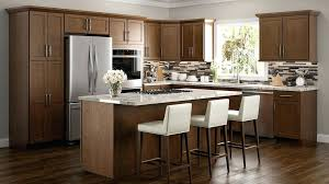 kitchens with white appliances and white cabinets. Brown Kitchen Cabinets Color With White Appliances Kitchens And N