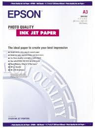<b>Epson</b> Photo Quality - Matte <b>coated paper</b> - A3 (297 x 420 mm) - 102 ...