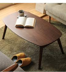 solid wood rectangle coffee table