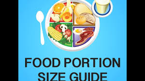 Food Portion Size Chart Food Portion Size Guide