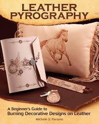 Pyrography Designs Book Leather Pyrography A Beginners Guide To Burning Decorative