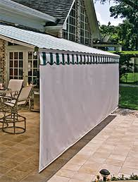 retractable awnings screens patio awning sunesta i like how this has privacy too