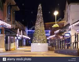 Cone Shaped Christmas Tree Lights Cone Shaped Christmas Tree Stock Photos Cone Shaped