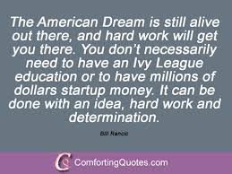 Living The American Dream Quotes Best of Quotes About American Dream 24 Quotes