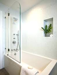 half glass shower door for bathtub bathtubs doors over how to install on tub half glass shower door for bathtub