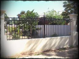 modern metal fence design. Full Size Of Fence Design Modern Metal Designs Bar Deco Line Heras Steel Gate Olympic Circle C