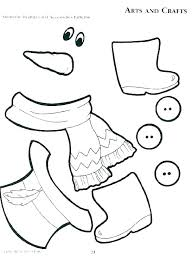 Snowman Coloring Page For Kids Coloring Page Snowman Snowman
