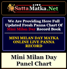 Find Out Previous And Latest Panna Chart Of Mini Milan Day