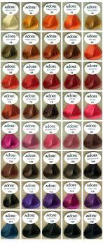 Blue Kool Aid Hair Dye Chart